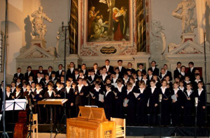 the Dresdner Kreuzchor in the Holy Trinity Church